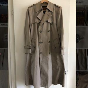 CHRISTIAN DIOR MONSIEUR Trench Coat  36R LIKE NEW